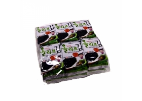 Roasted Laver with Olive Oil 0.17oz(4.8g) 12 Packs