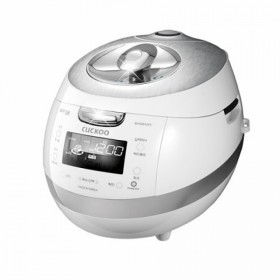 Cuckoo Full Stainless Eco IH Pressure Rice Cooker/Warmer CRP-BHSS0609F (6 cups)