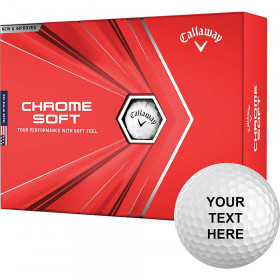 Callaway 2020 Chrome Soft Personalized Golf Balls