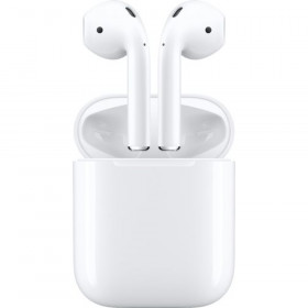 Apple - AirPods with Charging Case (Latest Model) - White